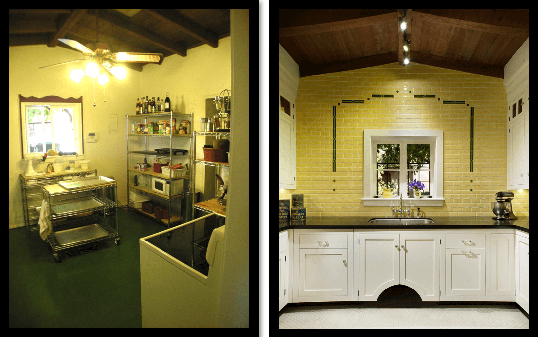 Phillips Kitchen before and after